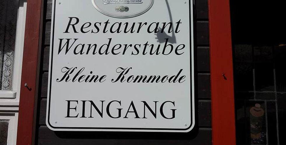 Hotel Pension Und Landgasthof Kleine Kommode